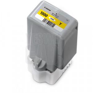 CANON PFI-1000Y - Cartouche d'encre d'origine - 1 x jaune - 80 ml