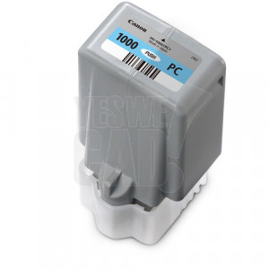 CANON PFI-1000PC - Cartouche d'encre d'origine - 1 x cyan photo - 80 ml