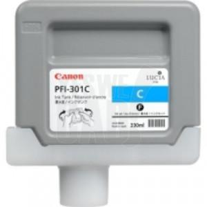 CANON PFI-301C - 1487B001AA - Cartouche d'encre - 1 x cyan - 330 ml