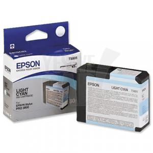 EPSON STYLUS PRO 3800 / 3880 - C13T580500 - Cartouche d'encre d'origine - 1 x cyan claire pigmentée - 80 ml