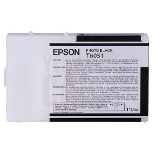 EPSON STYLUS PRO 4800 / 4880 - C13T605100 - Cartouche d'encre - 1 x noir photo - 110 ml