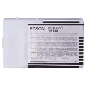 EPSON STYLUS PRO 4400 / 4450 / 4800 / 4880 / 9600 - C13T613800 - Cartouche d'encre - 1 x noir mat - 110 ml