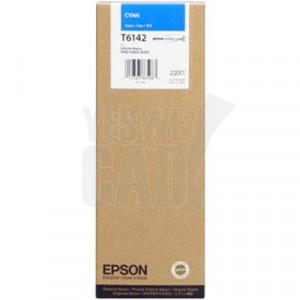 EPSON STYLUS PRO 4450 / 9600 - C13T614200 - Cartouche d'encre d'origine - 1 x cyan - 220 ml