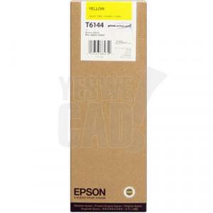 EPSON STYLUS PRO 4450 / 9600 - C13T614400 - Cartouche d'encre - 1 x jaune - 220 ml