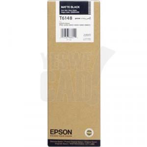 EPSON STYLUS PRO 4400 / 4450 / 4800 / 4880 / 9600 - C13T614800 - Cartouche d'encre - 1 x noir mat photo - 220 ml
