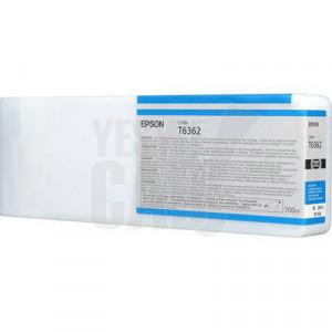 EPSON STYLUS PRO 7700 / 7890 / 7900 / 9700 / 9890 / 9900 / WT7900 - C13T636200 - Cartouche d'encre - 1 x cyan - 700 ml