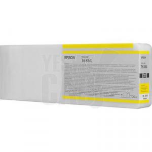 EPSON STYLUS PRO 7700 / 7890 / 7900 / 9700 / 9890 / 9900 / WT7900 - C13T636400 - Cartouche d'encre - 1 x jaune - 700 ml