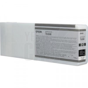 EPSON STYLUS PRO 7700 / 7890 / 7900 / 9700 / 9890 / 9900 - C13T636800 - Cartouche d'encre - 1 x noir mat - 700 ml