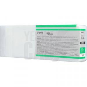 EPSON STYLUS PRO 7900 / 9900 / WT7900 - C13T636B00 - Cartouche d'encre d'origine - 1 x verte - 700 ml