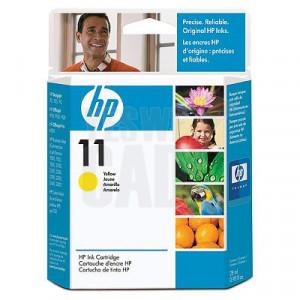 HP 11 - C4838A - Cartouche d'encre d'origine - 1 x jaune - 28 ml