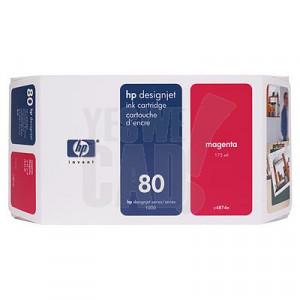 HP 80 - C4847A - Cartouche d'encre d'origine - 1 x magenta - 350 ml