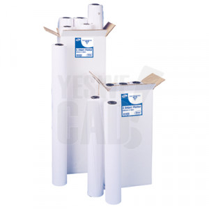 Rouleau de papier jet d'encre universel - 91,4 cm x 50 m - 90 g/m² - Carton x 6 rouleaux