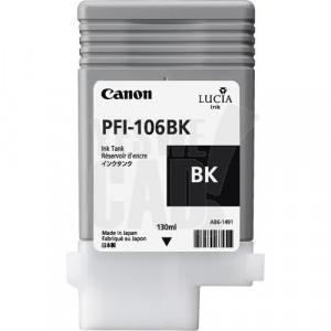 CANON PFI-106BK - 6621B001AA - Cartouche d'encre d'origine - 1 x noire - 130 ml