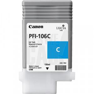 CANON PFI-106C - 6622B001AA - Cartouche d'encre d'origine - 1 x cyan - 130 ml