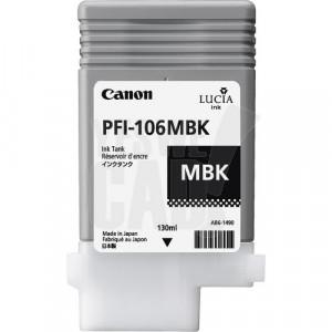 CANON PFI-106MBK - 6620B001AA - Cartouche d'encre d'origine - 1 x noire mat - 130 ml