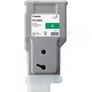 CANON PFI-206G - 5310B001 - Cartouche d'encre - 1 x verte - 300 ml