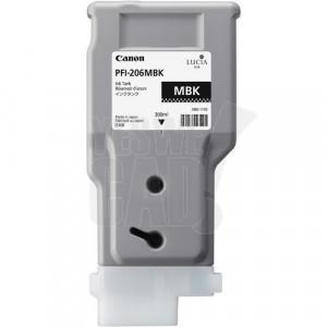 CANON PFI-206MBK - 5302B001 - Cartouche d'encre - 1 x noir mat - 300 ml