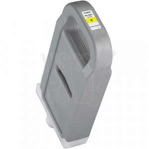 CANON PFI-706Y - 6684B001AA - Cartouche d'encre d'origine - 1 x jaune - 700 ml