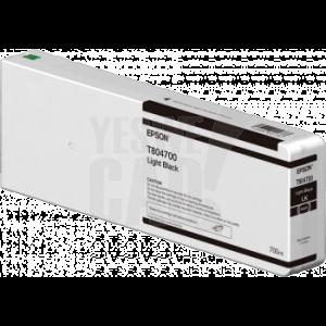 EPSON Singlepack Light Black T804700 UltraChrome HDX/HD 700ml