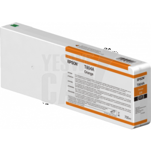 EPSON Singlepack Orange T804A00 UltraChrome HDX 700ml