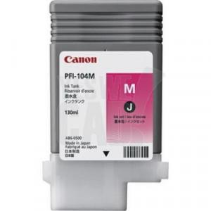 CANON PFI-104M - 3631B001 - Cartouche d'encre d'origine - 1 x magenta - 130 ml