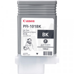 CANON PFI-101BK - 0883B001AA - Cartouche d'encre - 1 x noir - 130 ml