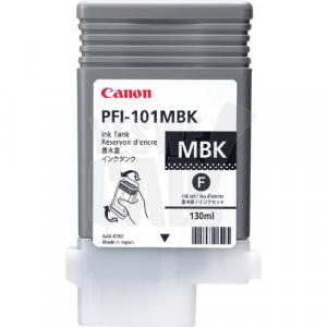 CANON PFI-101MBK - 0882B001AA - Cartouche d'encre d'origine - 1 x noire mat - 130 ml