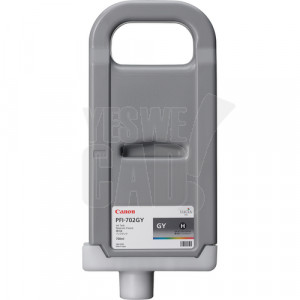 CANON PFI-702GY - 2221B005AA - Cartouche d'encre d'origine - 1 x grise - 700 ml