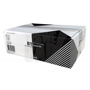 OCE 7050 / 7051C / 7055 / 7056 - 10107050 - Kit de toner B1 = 2 x cartouches de toner noir B1 et 2 x bacs de récupération de toner usagé - 2 x 400 gr