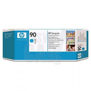 HP 90 - C5055A - Tête d'impression d'origine et dispositif de nettoyage - 1 x cyan