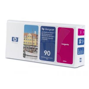HP 90 - C5056A - Tête d'impression d'origine et dispositif de nettoyage - 1 x magenta