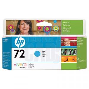 HP 72 - C9371A - Cartouche d'encre d'origine - 1 x cyan - 130 ml