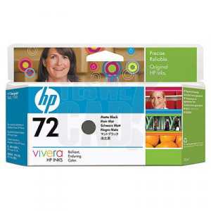 HP 72 - C9403A - Cartouche d'encre - 1 x noir mate - 130 ml