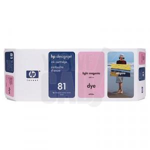 HP 81 - C4935A - Cartouche d'encre d'origine - 1 x magenta claire - 680 ml