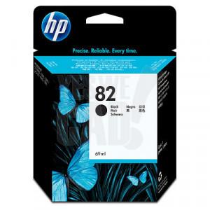 HP 82 - CH565A - Cartouche d'encre d'origine - 1 x noire - 69 ml