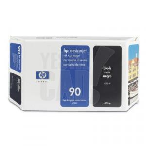 HP 90 - C5058A - Cartouche d'encre d'origine - 1 x noire - 400 ml