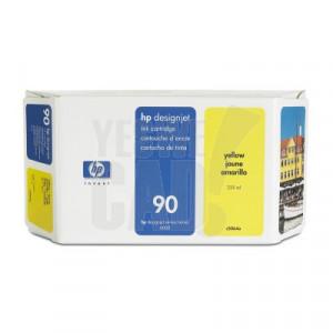 HP 90 - C5065A - Cartouche d'encre - 1 x jaune - 400 ml