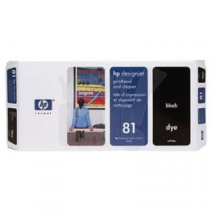 HP 81 - C4950A - Tête d'impression d'origine et dispositif de nettoyage - 1 x noir