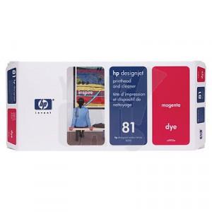 HP 81 - C4952A - Tête d'impression d'origine et dispositif de nettoyage - 1 x magenta