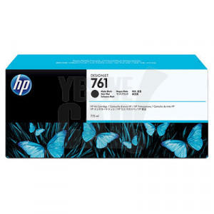 HP 761 - CM997A - Cartouche d'encre - 1 x noir mat - 775 ml