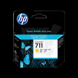 HP 711 - CZ132A - Cartouche d'encre d'origine - 1 x jaune - 29 ml