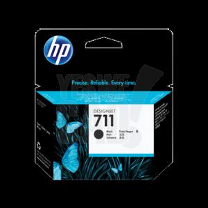 HP 711 - CZ133A - Cartouche d'encre d'origine - 1 x noire - 80 ml