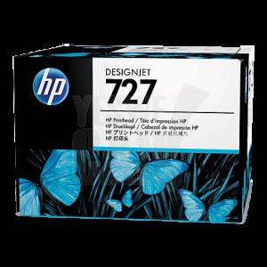 HP 727 - B3P06A - Tête d'impression - 1 x noir mat, noir photo, cyan, magenta, jaune, gris