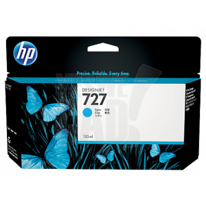 HP 727 - B3P19A - Cartouche d'encre d'origine - 1 x cyan - 130 ml
