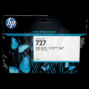 HP 727 - B3P23A - Cartouche d'encre d'origine - 1 x noire photo - 130 ml