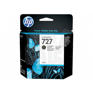 HP 727 - C1Q11A - Cartouche d'encre d'origine - 1 x noir mat - 69 ml