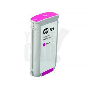 HP 728 - F9J66A - Cartouche d'encre - 1 x magenta - 130 ml