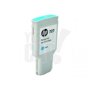 HP Cartouche d'encre DesignJet HP 727 Cyan 300 ml