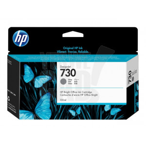 HP Cartouche d'encre DesignJet HP 730 Gris 130 ml