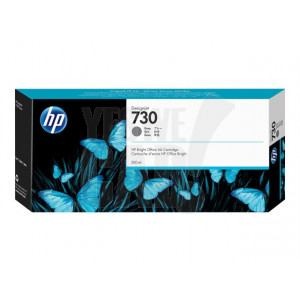 HP Cartouche d'encre DesignJet HP 730 Gris 300 ml